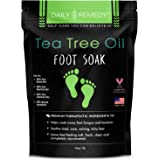 Tea Tree Oil Foot Soak with Epsom Salt - Made in USA - for Toenail Fungus, Athletes Foot, Stubborn Foot Odor Scent, Fungal, S