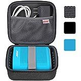 BOVKE for Soundlink Color II/UE ROLL 360 Wireless Speaker Hard EVA Shockproof Carrying Case Storage Travel Case Bag Protectiv