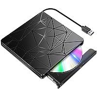 BLENCK DVDドライブ 外付け 【進化バージョン USB3.0】 ポータブルドライブ CD/DVDプレイヤー CD…