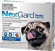 Nexgard, Flea & Tick Monthly Chew, Dog, 4.1-10kg, 3pk