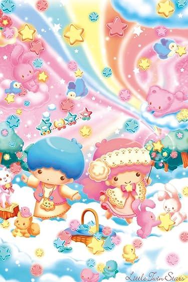 リトルツインスターズ  iPhone/Androidスマホ壁紙(640×960)-1 - キキとララの星空づくり