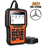 FOXWELL NT510 Elite Scanner for Mercedes Benz/Sprinter/Smart Full System Bi-Directional OBD2 Code Reader Professional Automot