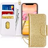 FYY Case for iPhone 11, [Kickstand Feature] Luxury PU Leather Wallet Case Flip Folio Cover with [Card Slots] and [Note Pocket