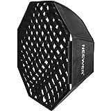 "Neewer 30""x30"" / 80cmX80cm Grid Octagon Umbrella Speedlite Softbox with Bowens Mount Speedring for Nikon, Canon, Sony, Pentax"