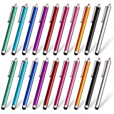 homEdge Stylus Pen Set of 20 Pack, Universal Capacitive Touch Screen Stylus Compatible with iPad, iPhone, Samsung, Kindle Tou