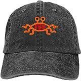 男性と女性のための飛行スパゲッティモンスターFSMヴィンテージ野球帽トラック運転手の帽子