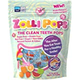 Zollipops The Clean Teeth Pops, Anti Cavity Lollipops, Delicious Flavors, Tropical, 3.1 Ounce