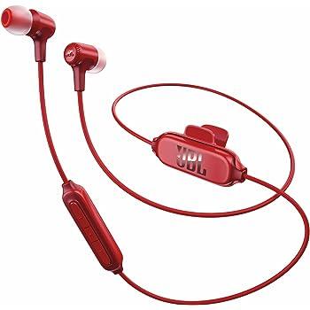 JBL E25BT Bluetoothイヤホン マルチポイント対応/通話可能 レッド JBLE25BTRED 【国内正規品】