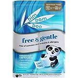 Bim Bam Boo 2ply Toilet Paper   Hypoallergenic Bamboo Formula for Sensitive Skin  12 Rolls, 308-Sheets per Roll