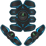 Bicidi 【2020モデル】EMS 腹筋ベルト 腹筋トレーニング USB充電式 筋トレ器具 家トレ ダイエット器具…