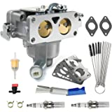 CANZILLA 796227 Carburetor for Briggs & Stratton V-Twin Engine, Carb Replacement with Gasket for Lawn Mower Fits 407777 40N87