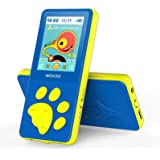 "Wiwoo MP3 Player for Kids, Portable Music Player with FM Radio Video Games Sleep Timer Voice Recorder, 1.8"" LCD Screen MP3 Mu"