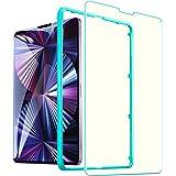 ESR ガラスフィルム iPad Pro 11 (2021/2020/2018)用 iPad Air 4 (2020)用 ブルーライトカット 液晶保護 硬度9H 強化ガラスフィルム 耐スクラッチ