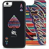 【廃番品】レインボーストライプ カードケースセット iPhone 6/6s/7/8【旧WAYLLY】