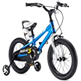RoyalBaby Boys Girls Kids Bike BMX Freestyle 2 Hand Brakes Bicycles with Training Wheels Child Bicycle
