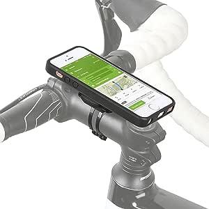 Wicked Chili (ウィケッド チリ) byドイツ/ クイックマウントシリーズ3.0 スマホケース IPX3カバー & 自転車取付けキット付属 車 キッチン 様々な場所にもワンタッチで簡単に取り付け可能 (iPhone SE/5S/5用)