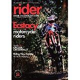 rider (ライダー) Vol.34 [雑誌] (オートバイ2021年3月号臨時増刊)