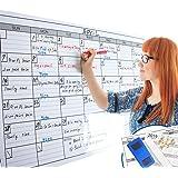 Dry Erase Monthly Laminated Jumbo Calendar (25WX38L)