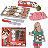 Melissa & Doug 4074 Slice and Bake Wooden Cookie Play Food Set