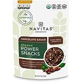 Navitas Organics Superfood Power Snacks, Chocolate Cacao, 16 oz. Bag — Organic, Non-GMO, Gluten-Free