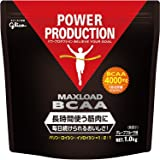 グリコ パワープロダクション マックスロード BCAA4000mg アミノ酸 グレープフルーツ風味 1kg【使用目安 約…