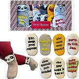 Unisex Baby Socks Gift Set – 7 Pairs - Newborn or Baby Shower Registry Idea - Ships from Australia