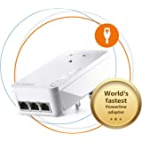 Devolo Magic 2-2400 LAN Triple: Stable Home Working, Add-on Powerline Adapter, Up to 2400 Mbps for Your Powerline Home Networ