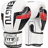 ZTTYボクシンググローブ PU パンチンググローブ 通気性 キックボクシング トレーニンググローブ 格闘技グローブ サンドバッグ 空手 ミット 男女兼用 子供