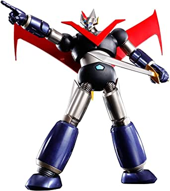スーパーロボット超合金 グレートマジンガー~鉄(くろがね)仕上げ~ 約140mm ABS&PVC&ダイキャスト製 塗装済み可動フィギュア