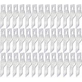 TIHOOD 100PCS #16 Replacement Hobby Blade/Steel Craft Knife Blades