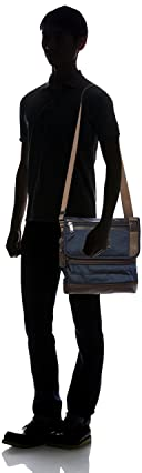 Alpha Bravo Beale Crossbody 222371: Navy