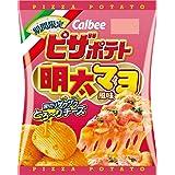 カルビー ピザポテト 明太マヨ風味 60g ×12袋