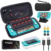 Nintendo Switch Lite ケース ニンテンドースイッチライト 14 IN 1セット【収納ケース/大容量…