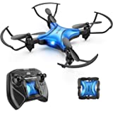 DROCON Scouter Foldable Mini RC Drone for Kids with Altitude Hold Mode, One Key Take Off Landing, 3D Flips and Headless Mode