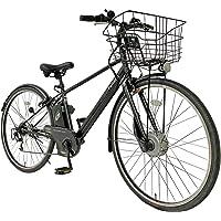 【完成車】PELTECH(ペルテック) TDA-207Z ブラック 電動アシストクロスバイク 27インチ 外装6段