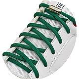 [AIJIABEI] (が2足)結ばない靴紐 くつひも ゴム 伸縮性 靴ひも シューレース 革靴 ボードシューズ 金属カ…