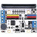 Elecfreaks microbit Motor:bit 3v/5v Expansion Board Mini Micro:bit Breakout Board Support 2 DC Motor Extend 14-Channel IO Por