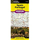 Spain and Portugal Adventure Map: Travel Maps International Adventure Map