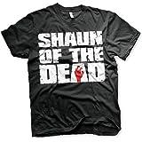 Shaun of the Dead Officially Licensed Logo Mens T-Shirt (Black)