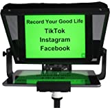 Teleprompters for Smart Phones and Tablets, Making Video Programs, Live Streaming,Professional Tool to Prompt The Blogger's L