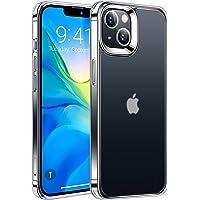TORRAS 半クリア iPhone 13 用 ケース 耐衝撃 米軍MIL規格取得 マット感 指紋防止 SGS認証 黄ば…