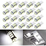 BOODLIED 20pcs Super Bright RV Trailer 921 194 T10 4014 42-SMD 12V Car Backup Reverse LED Bulbs Width LED Lights 6000K Xenon