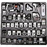 (42 PCS) - Professional Domestic Sewing Foot Presser foot Presser Feet Set for Singer, Brother, Janome,Kenmore, Babylock,Elna