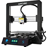ANYCUBIC 3D Printer Mega S with Patented Heated Build Plate and Upgraded Extruder + Free Test PLA Filament, Printing Size 210