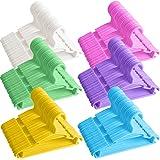 GoodtoU Kid-Hangers, 100Pack-Baby-Toddler-Infant-Childrens-Hangers, Plastic Clothes Hangers Child Hangers Nursery Hangers Bab