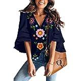 AlvaQ Women Bohemian V-Neck Tie Front Spaghetti Strap Button Backless Swing Midi Summer Dress