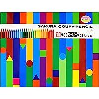 サクラクレパス 色鉛筆 クーピー 缶入 60色 3個 FY60(3)