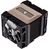 Corsair A500, High Performance Dual Fan CPU Cooler (Cools up to 250W TDP, Intuitive Slide-and-Lock Fan Mount, Two Corsair ML1