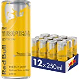 Red Bull Tropical Energy Drink, Case of 12 x 250ml, Tropical
