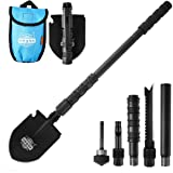10 in 1 Utility Folding Camping Hiking Shovel Spade Axe Military Self-Defense Survival Tool Set Multi Outdoor Camping Gear To
